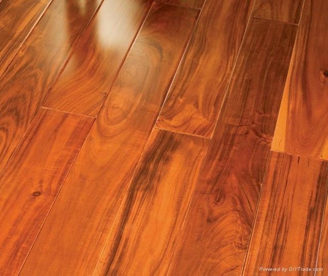 Small Leaf Acacia Solid Hardwood Flooring