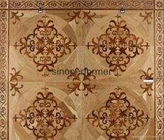 Wood Mosaic Parquet Flooring