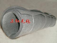 灰色工業毛氈吸油密封吸音耐溫毛氈防塵防震耐壓