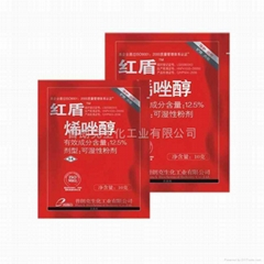 烯唑醇可濕性粉劑