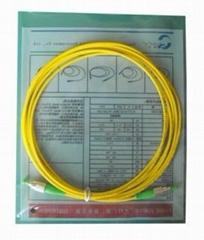 FC电信级单模双芯光纤跳线