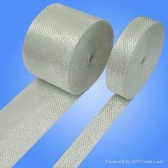 Non-alkal fiberglass binding tape