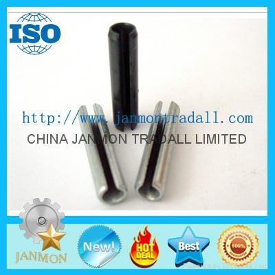ASME B.18.8.2 Slotted Spring Pin,Steel split pin,Spring steel roll pin,Black pin 1
