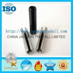 ASME B.18.8.2 Slotted Spring Pin,Steel split pin,Spring steel roll pin,Black pin