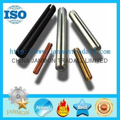 ASME B.18.8.2 Slotted Spring Pin,Steel split pin,Spring steel roll pin,Black pin 2