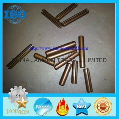 ASME B.18.8.2 Slotted Spring Pin,Steel split pin,Spring steel roll pin,Black pin 3