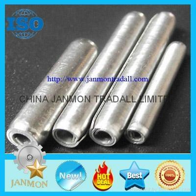 ASME B.18.8.2 Slotted Spring Pin,Steel split pin,Spring steel roll pin,Black pin 5