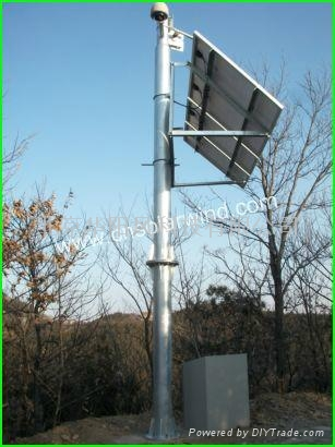 太阳能电池发电原理   太阳能电池是一对光有响应并能将光能转换成