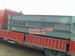 常熟100吨地磅维修