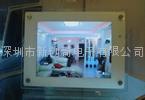 钢化玻璃面板数码相框