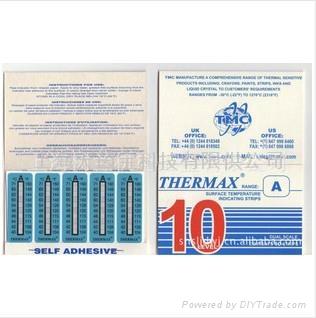 英國測溫標貼Themax