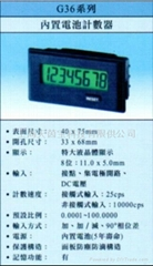 COUMTER AND TACHOMETER