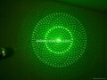 100mw 5-in-1 green laser pointer/laser pen/star pointer Free shipping