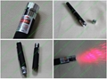 100mw 660nm high power red laser pointer pen with star cap  FREE SHIPIN 4