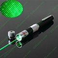 30mw 2 in 1 Green laser pointer/star