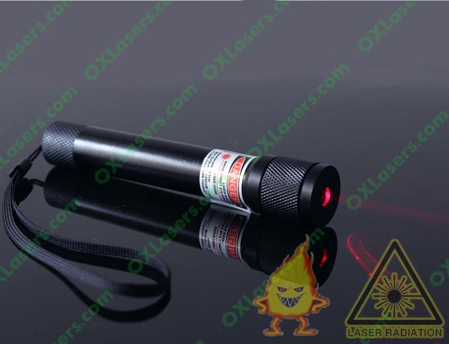 200mw flashlight shaped red laser pointer with focusable lens light cigarttes