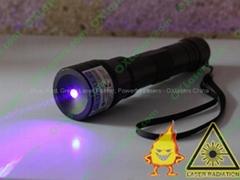 200mw 405nm violet blue laser pointer/ ajustable purple laser  light cigarettes