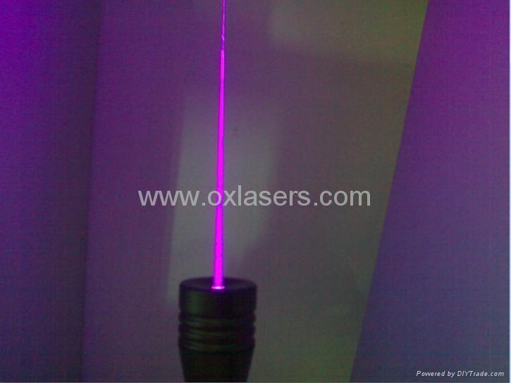 200mw 405nm violet blue laser pointer/ ajustable purple laser  light cigarettes 3