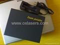 100MW  RGB laser pointer/red laser+green laser+purple laser/free shipping 3
