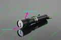 100mw green laser pointer/focusable laser pointer light matches + free shipping