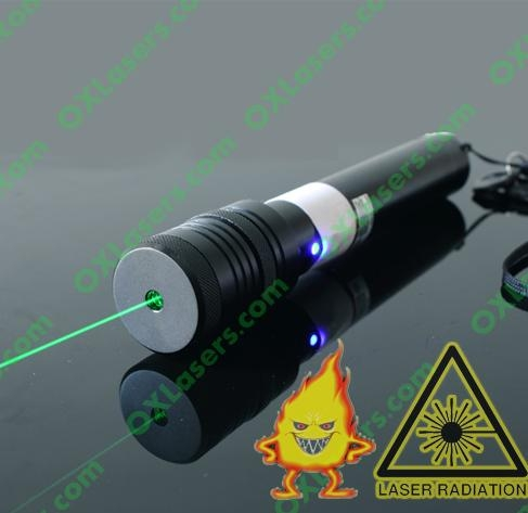 100mw 532nm green laser pointer with focusable lens burn matches /free shipping 1