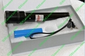100mw 532nm green laser pointer with focusable lens burn matches /free shipping 3