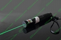 100mw green laser pointer with focusable lens light maches/free shipping 4