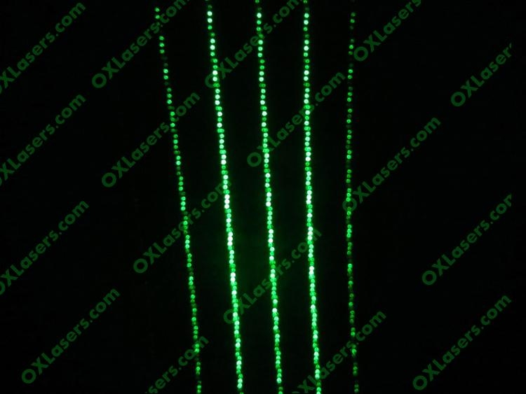 10mw green laser pointer with 5 heads/green laser pointer / laser pen free ship 5