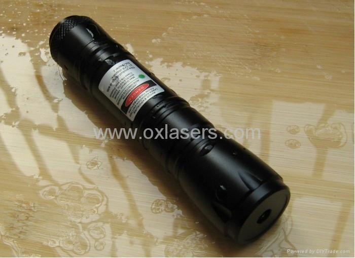 50mw 532nm water proofed green laser pointer/laser torch high powered/free ship 2