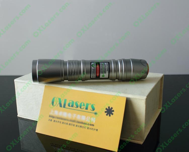 100mw underwater green laser pointer flashlight style LASER TORCH /free ship 2