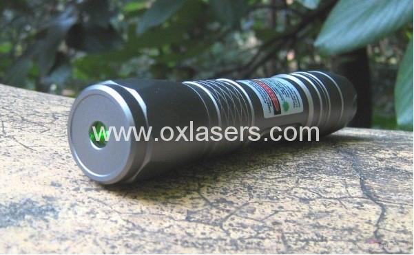 100mw underwater green laser pointer flashlight style LASER TORCH /free ship 3