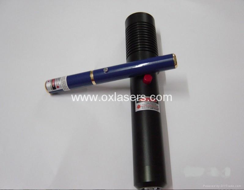 450mw hand held protable green laser pointer/Astronomy Lasers free shipping 3