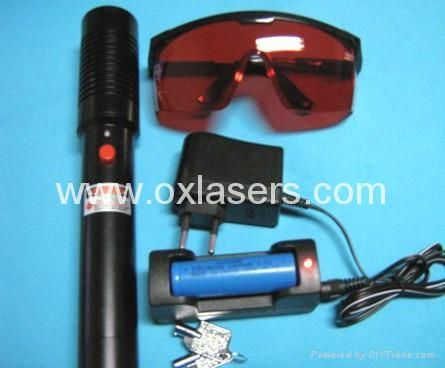 500mw ultra power protable green laser pointer/green beam laser  free shipping 1