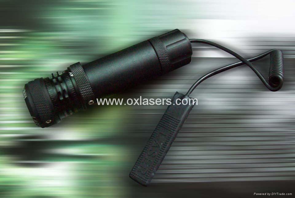 30mw 532nm green laser pointer/ green laser sight/laser free shipping 2