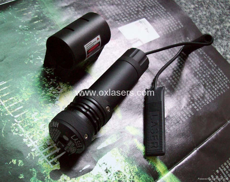 30mw 532nm green laser pointer/ green laser sight/laser free shipping 4