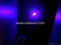 50mw 405nm 5 in 1 violet blue laser pointer/purple laser pointer  free shipping