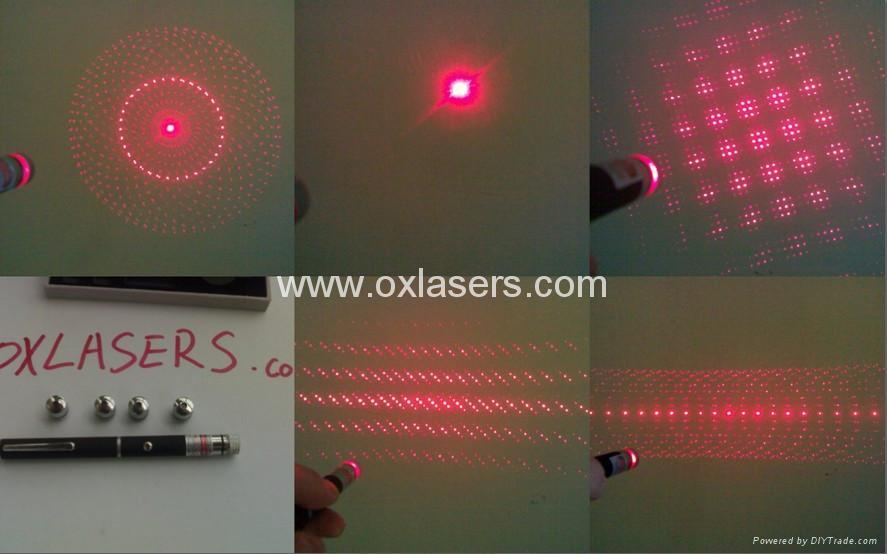 100mw 660nm Red Laser Pointer With 5 Star Caps Red Laser