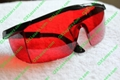 laser glasses goggles for 532nm green laser/405nm-445nm blue laser free shipping