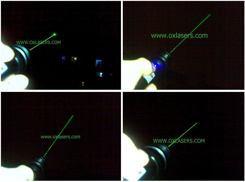 200mw 532nm green laser pointer with focusable lens light cigarette/free shippin 4