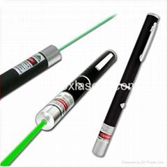 5mw 532nm green laser pointer/laser pointer pen/star pointer free shipping