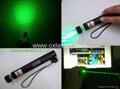 200mw powerful focusable burning green laser pointer free shipping  light cigar