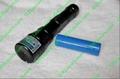 200mw handheld burning waterproof green laser pointer +adjustable lens+free ship 4