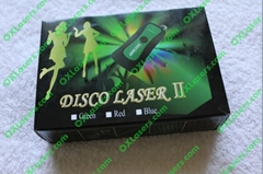 532nm 10mw 3 in 1 green laser pointer/ disco laser/ laser kaleidoscope free ship