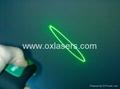 532nm 10mw 3 in 1 green laser pointer/ disco laser/ laser kaleidoscope free ship