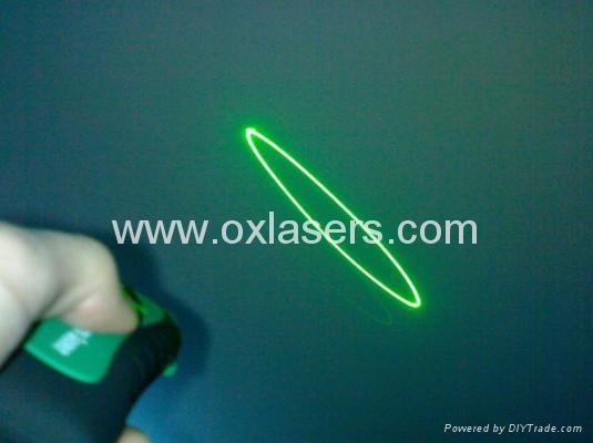 30mw 3 In 1 Green Laser Green Beam Star Circle Effect