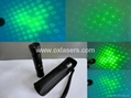 hand-held protable sound active green red laser light/laser kaleidoscope