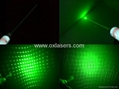 200mw middle open green laser pointer