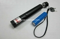 100mw focusable burning  green laser pointer light maches/free shipping