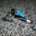 100mw focusable burning  green laser pointer light maches/free shipping 3
