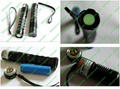 200mw high power green laser pointer with focusable lens/light cigar & match